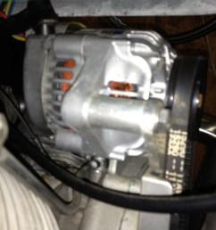 kurt thomas alternator conversion applicable to moto guzzi v700 v7 special ambassador [ 1024 x 768 Pixel ]