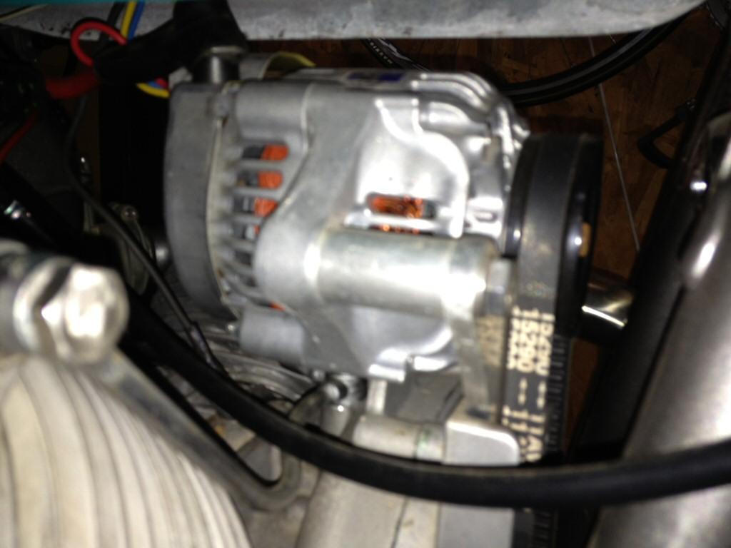 hight resolution of kurt thomas alternator conversion applicable to moto guzzi v700 v7 special ambassador