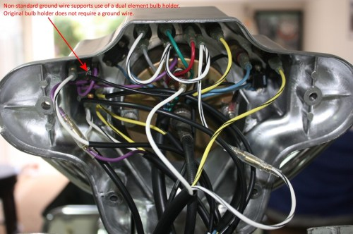 small resolution of an excellent view of the connections inside a standard police dash