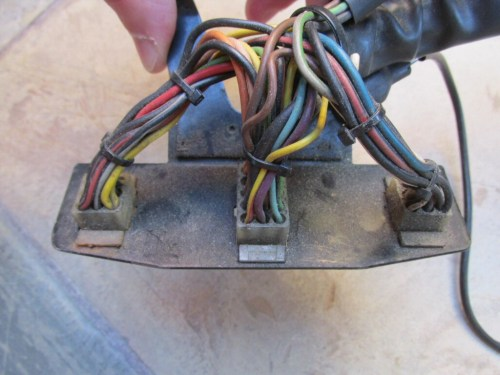 small resolution of wiring harness plate for molex connectors mg 28749760 for the le mans 1000