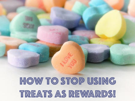 How to Stop Using Treats as Rewards