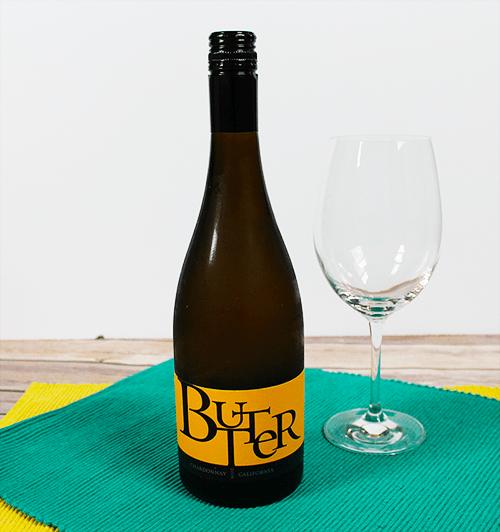 JaM Cellars Butter Chardonnay Bottle and Glass