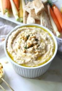 White Bean Dip with Herbs   Vegan + GF   ThisSavoryVegan.com