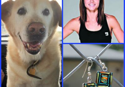 WWE, August Glass Earrings, MY FABULOUS DOG & Deodorant