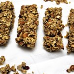 Cranberry Almond Orange Granola Bars