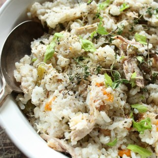 Chicken and Rice – Seasonal Veggie Style