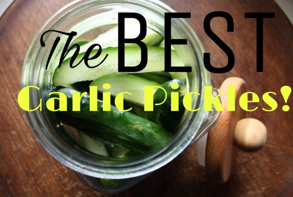 Garlic pickles pin