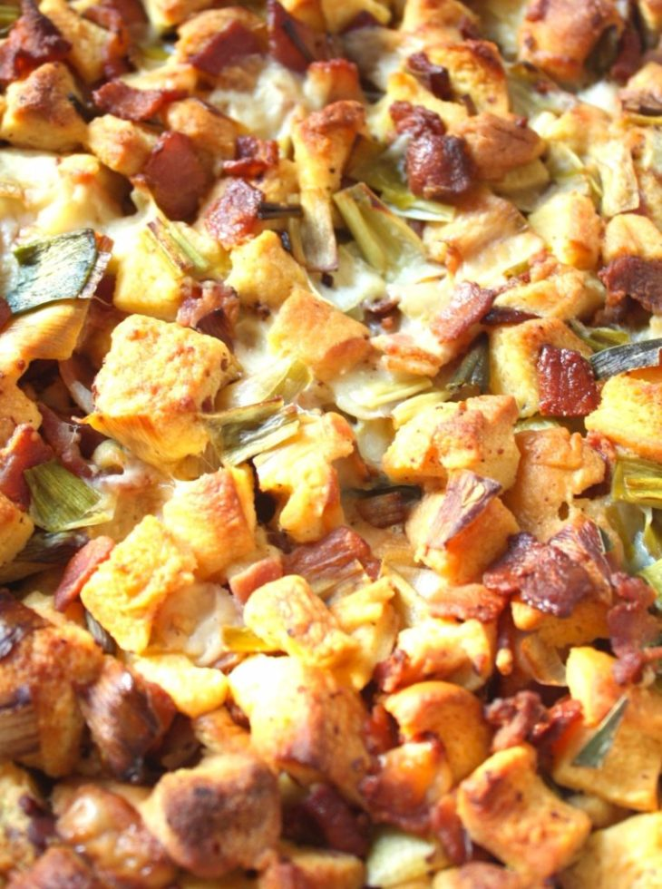 The perfect Thanksgiving stuffing recipe! So addicting, you'll wish you made more for leftovers!
