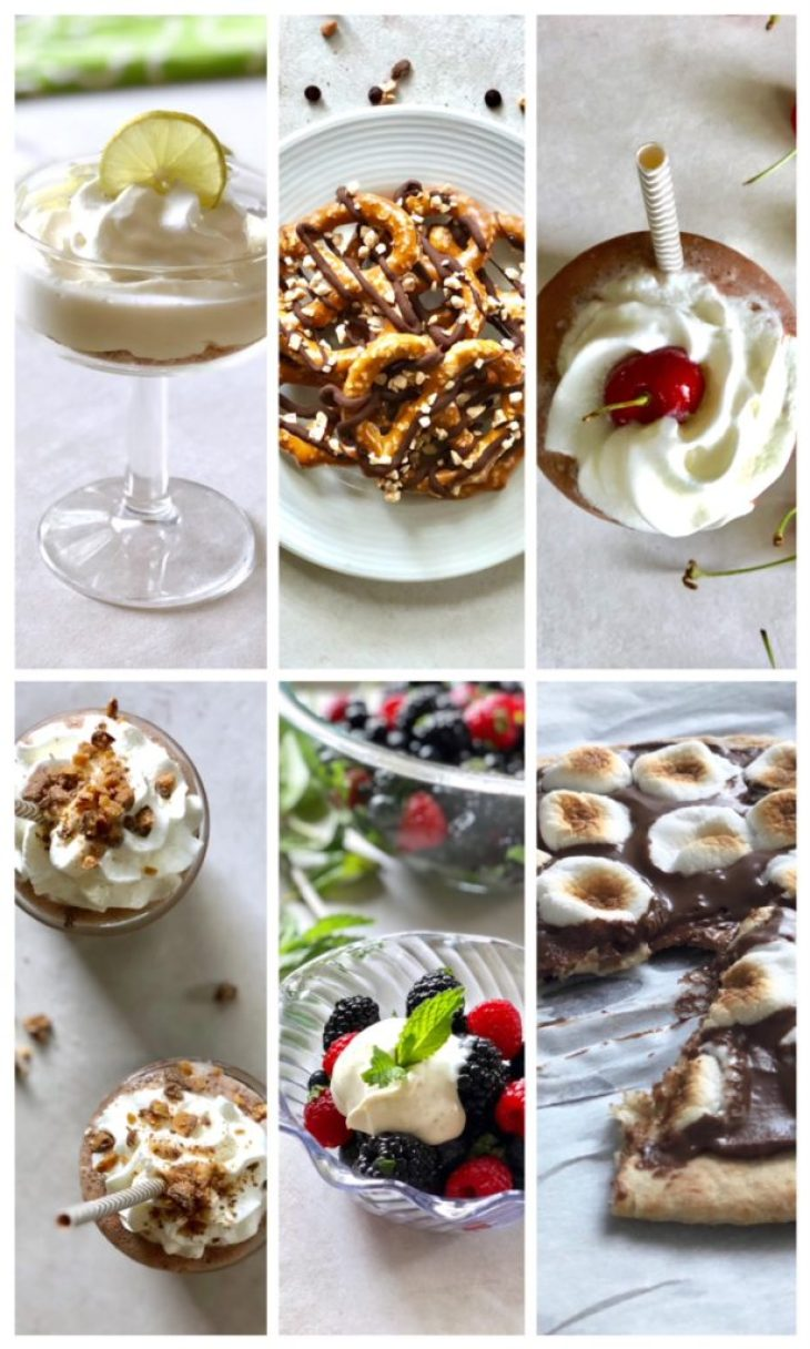 pictures of healthy desserts