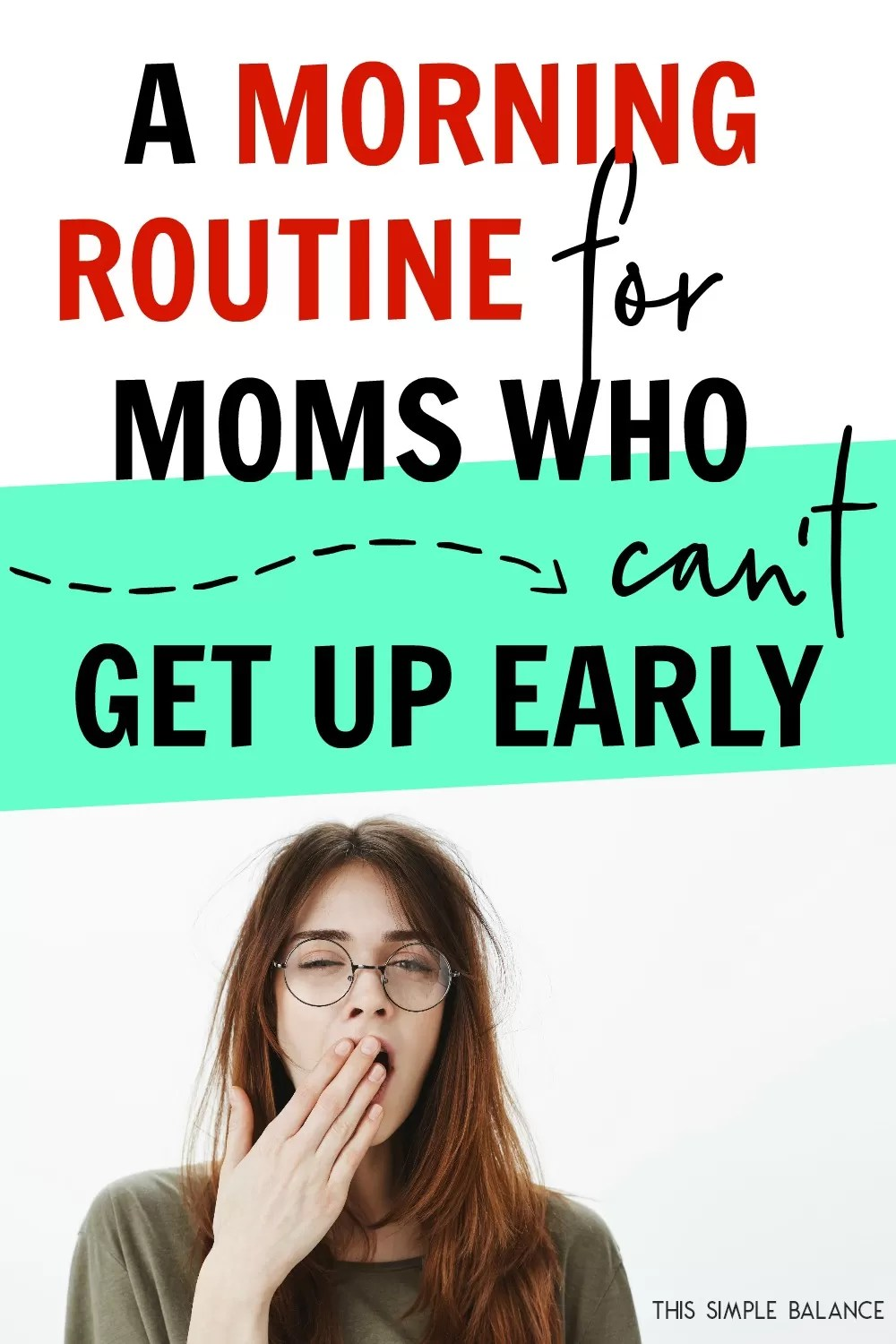 a morning routine for