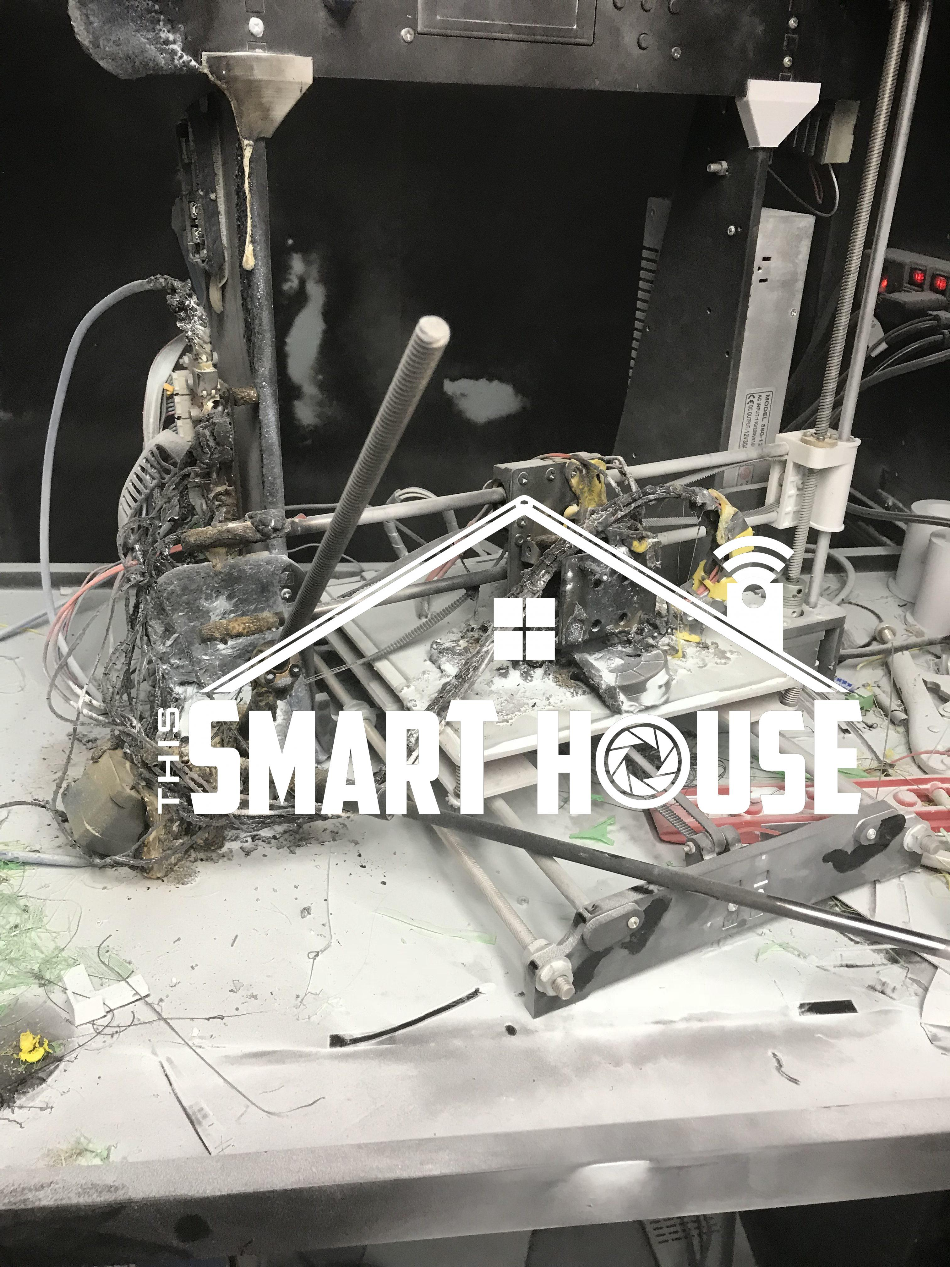 Don't burn your house down 3D Printing  A Cautionary Tale | This