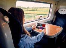 BEAM on a Virgin Train