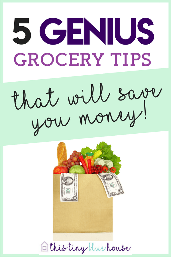 5 clever tips & tricks that will save you a fortune on grocery. If you're looking to reduce your grocery budget, save money and start meal planning - these 5 grocery shopping tips & tricks will help you reduce your food costs budgeting   money saving tips   grocery shopping tips