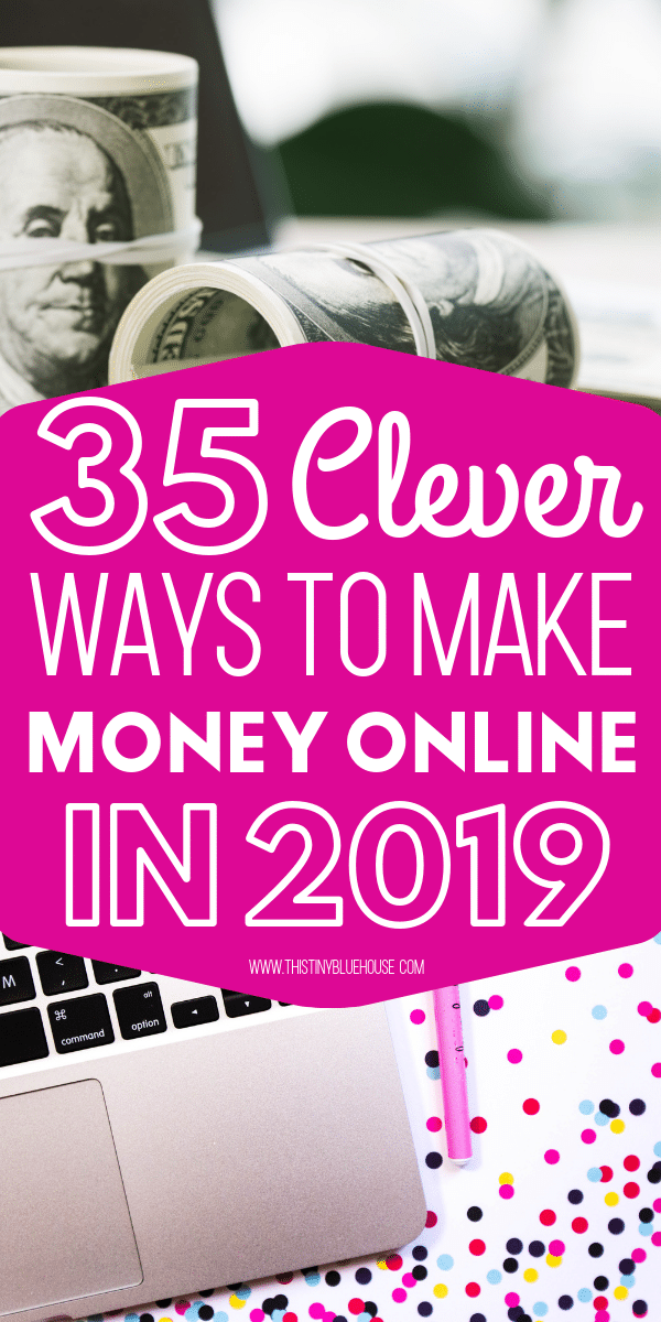 Are you looking to make some extra cash this year and supplement your income? Here are 35 of the BEST online side hustles you gotta try in 2019! #makemoneyonline #makemoneyonlinecanada #makemoneyonlinefast #passiveincome #makemoneyonlinelegit #makemoneyonlinefromhome #waystomakemoneyathome #waystomakemoneyonline #waystomakemoneyonline2019