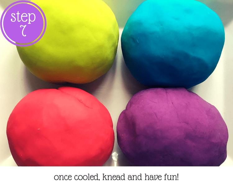 Super Easy DIY Non-Toxic Play-Doh #playdoh #toddleractivities #DIYplaydoh #nontoxicplaydoh #DIYtoddlercrafts #frugal #frugaltoddleractivities