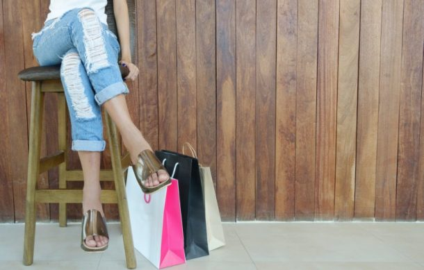 Are you consistently overspending and unable to stick to a budget? Here are some practical tips to help you conquer an overspending problem for good! #budgetintips #budgetinghacks #howtostopspendingmoney #howtostopoverspending #howtostopshopping