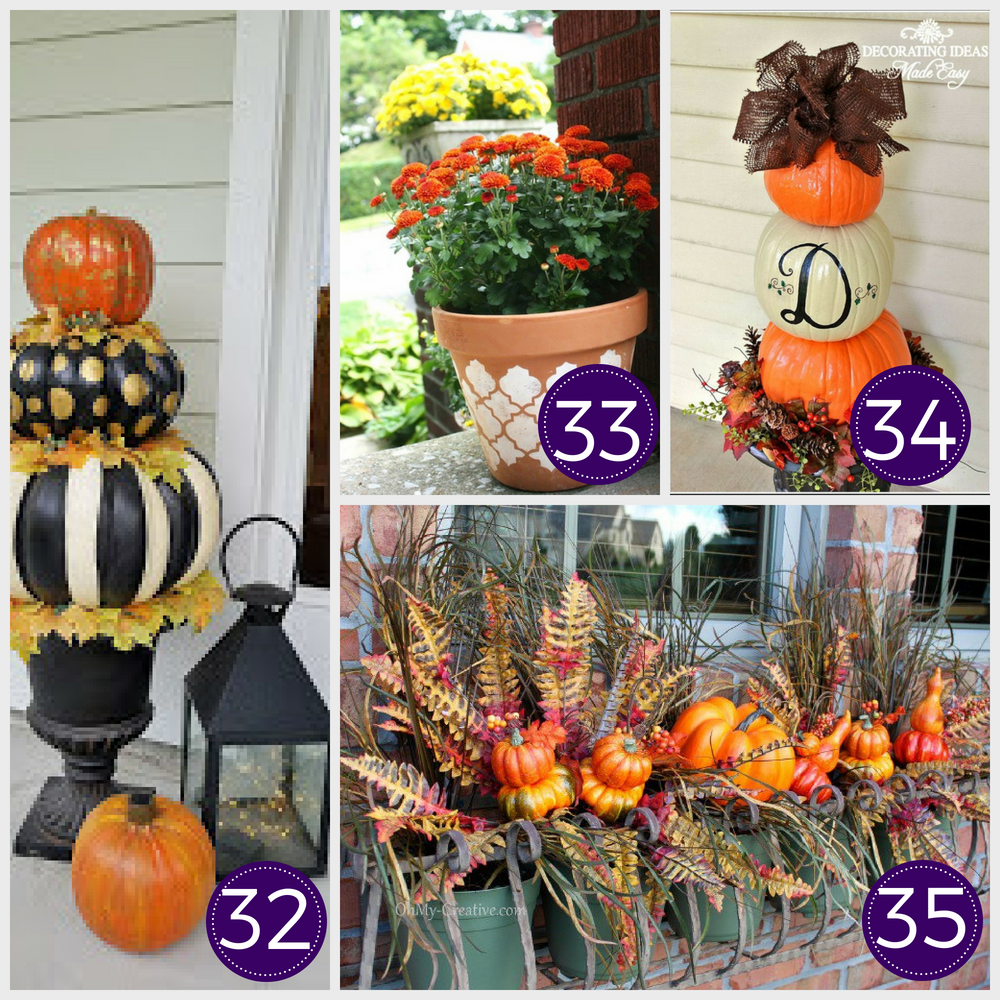 Cheap Diy Fall Decorations On A Budget: 35 Stunning Dollar Store DIY Fall Decor Ideas