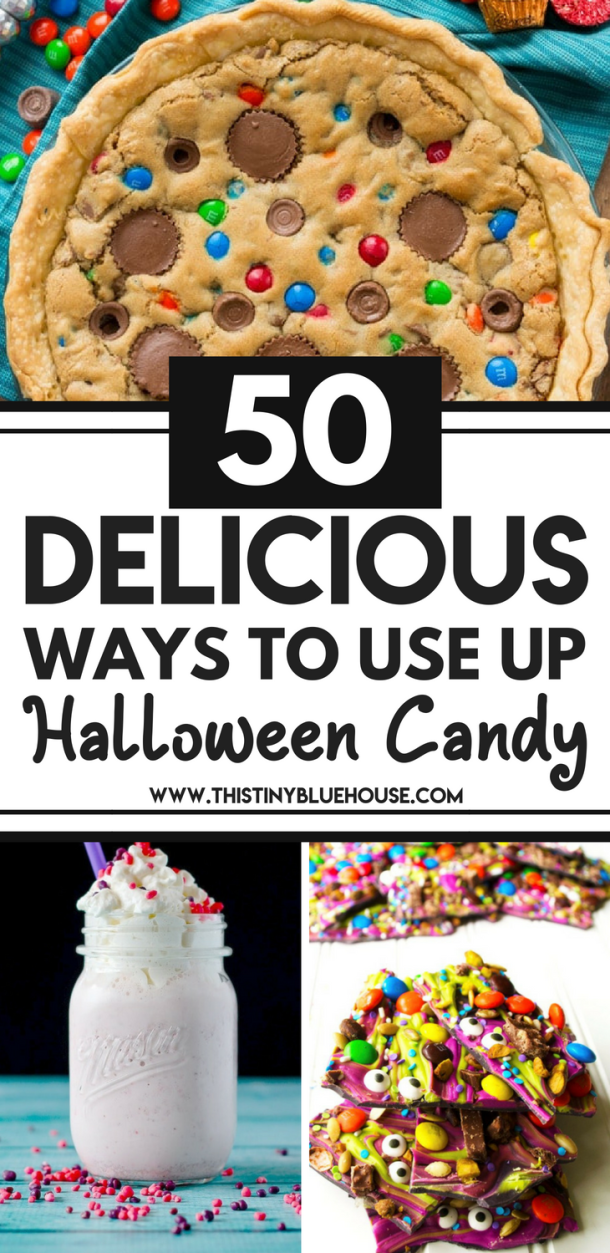 are you looking for easy ways to use up leftover halloween candy? Here are 50 delicious and easy ways to use up your leftover halloween candy. #leftoverhalloweencandy #leftoverhalloweencandyrecipes #leftoverhalloweencandyideas #leftoverhalloweencandycookies #leftoverhalloweencandywhattodo #leftoverhalloweencandycake #leftoverhalloweencandyrecipesdesserts #leftoverhalloweencandyrecipeschocolates #leftoverhalloweencandyrecipeskids #leftoverhalloweencandyrecipesfun #leftoverhalloweencandyrecipeswhattodo