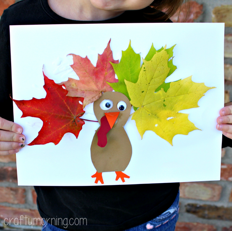 16 Easy DIY Thanksgiving Crafts for Kids