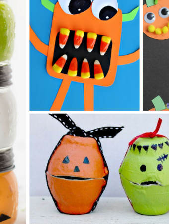 70+ Spooky Halloween Crafts For Kids