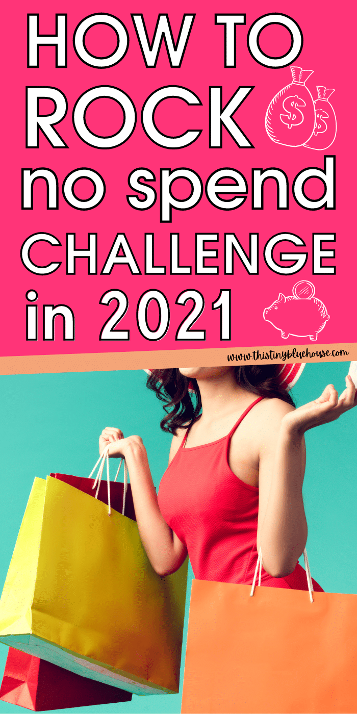 How To Rock A No-Spend Challenge in 2021