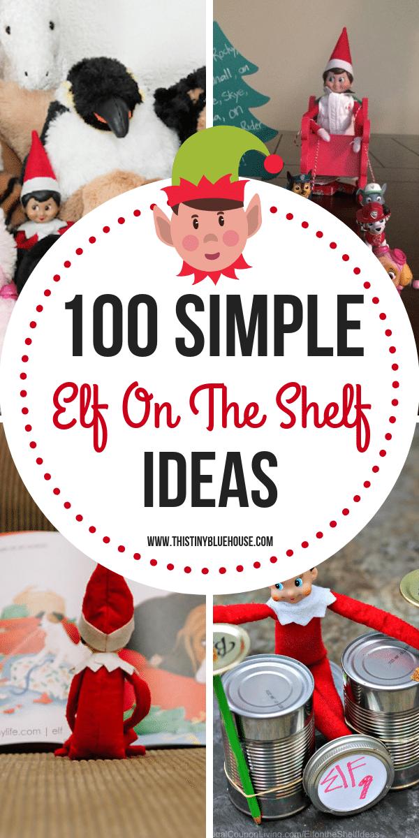 New Elf On The Shelf Ideas 2019 100 Best Easy Elf On The Shelf Ideas   This Tiny Blue House