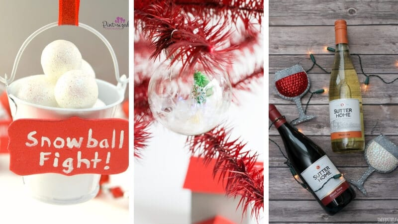 Here's a massive collection of 90+ gorgeous, unique and easy to make DIY Christmas Ornaments that would make the perfect addition to any tree. #DIYChristmasOrnament #DIYChristmasOrnamentForGifts #DIYChristmasOrnamentsForTree #DIYChristmasOrnamentsWithPictures #DIYChristmasOrnamentCheap #DIYChristmasOrnamentIdeas #DIYChristmasOrnamentEasy