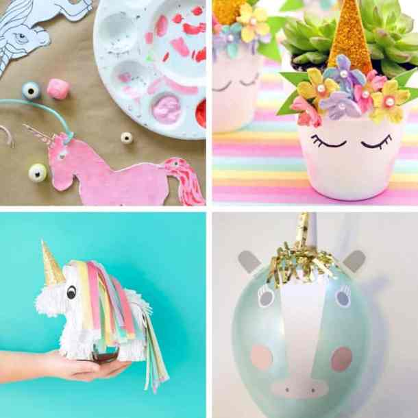 Is your kiddo obsessed with unicorns? Here are 60 easy Unicorn crafts for kids that are easy to make and are guaranteed to provide hours of fun! #UnicornCrafts #UnicornCraftsForKids #UnicornCraftsDIY #UnicornCraftsForPreschoolers #UnicornCraftsForGirls #UnicornCraftsEasy #UnicornCraftsForKidsDIY #UnicornCraftsForKidsBirthdayPartyIdeas #UnicornCraftsForKidsSimple