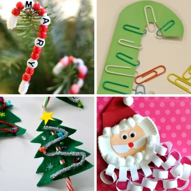 Easy Christmas Crafts.100 Easy Festive Christmas Crafts For Kids This Tiny Blue