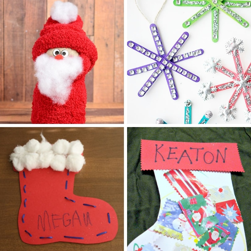 100 Easy Festive Christmas Crafts For Kids - Get into the holiday spirit with these 100 easy festive Christmas crafts for kids! Suitable for kiddos of all ages and super inexpensiveto make, these crafts are guaranteed to provide hours of fun! #ChristmasCraftsForKids #ChristmasCraftsForKidsToMake #ChristmasCraftsForKidsEasy #ChristmasCraftsForKidsPreschool #ChristmasCraftsForKidsToddlers #ChristmasCraftsForKidsDIY #ChristmasCraftsForKidsSimple