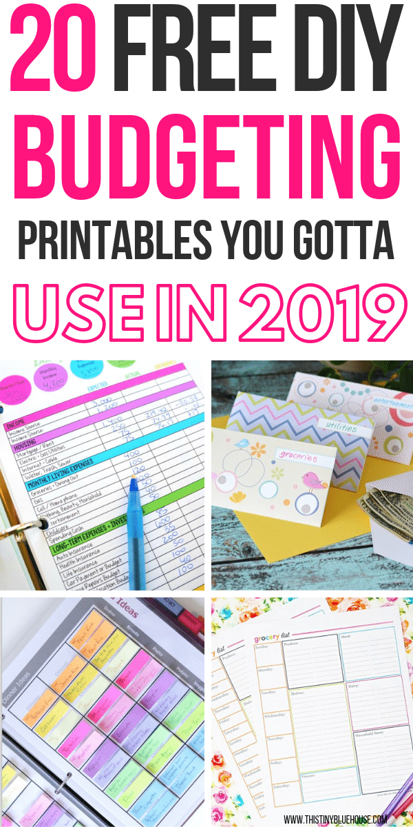 Whether you're trying to take control of your finances or just want to stay on track this year, these BEST free budget printables are a must have for 2019. Keep your finances super organized with these amazing free budget templates and printables that'll make keeping your finances in order a breeze! #budgetprintables #budgetprintablesfree #budgetprintablesbeginners #budgetprintablestemplates #budgetprintablesmonthly #freebudgetprintables #freebudgetprintablestemplates #freebudgettemplatesworksheets #freebudgetprintablesgroceryshoppinglists #groceryshoppinglistprintables #mealplanningprintable #weeklymealplanprintable