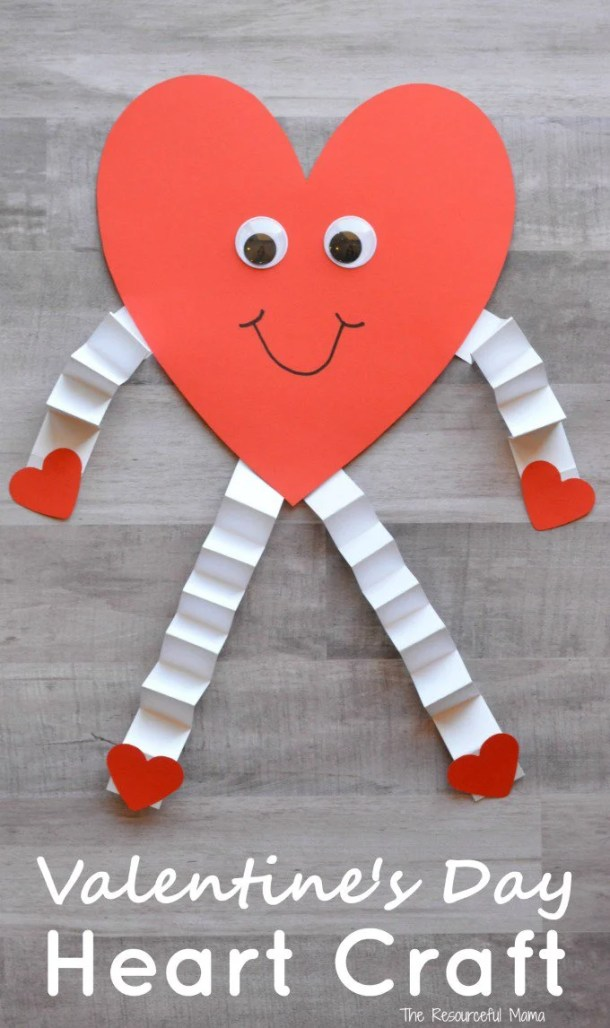 15 Easy Valentine's Day Crafts for Kids (Part 1)