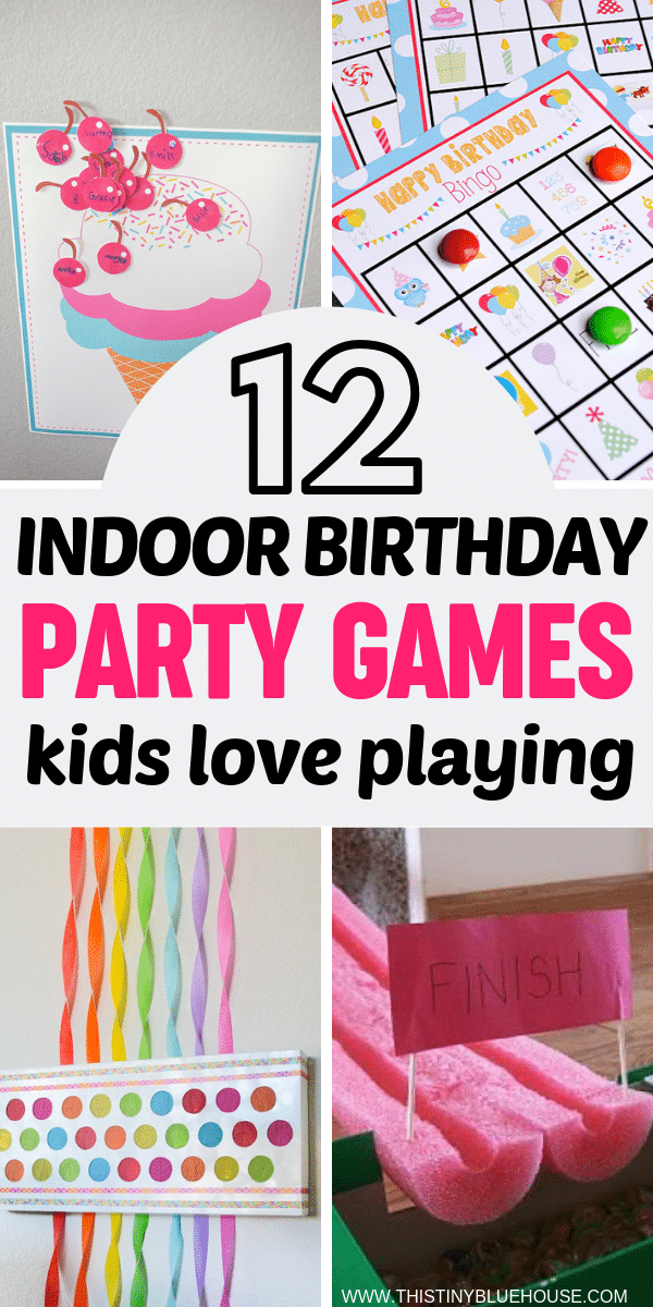 12 indoor birthday party games kids will love this tiny. Black Bedroom Furniture Sets. Home Design Ideas