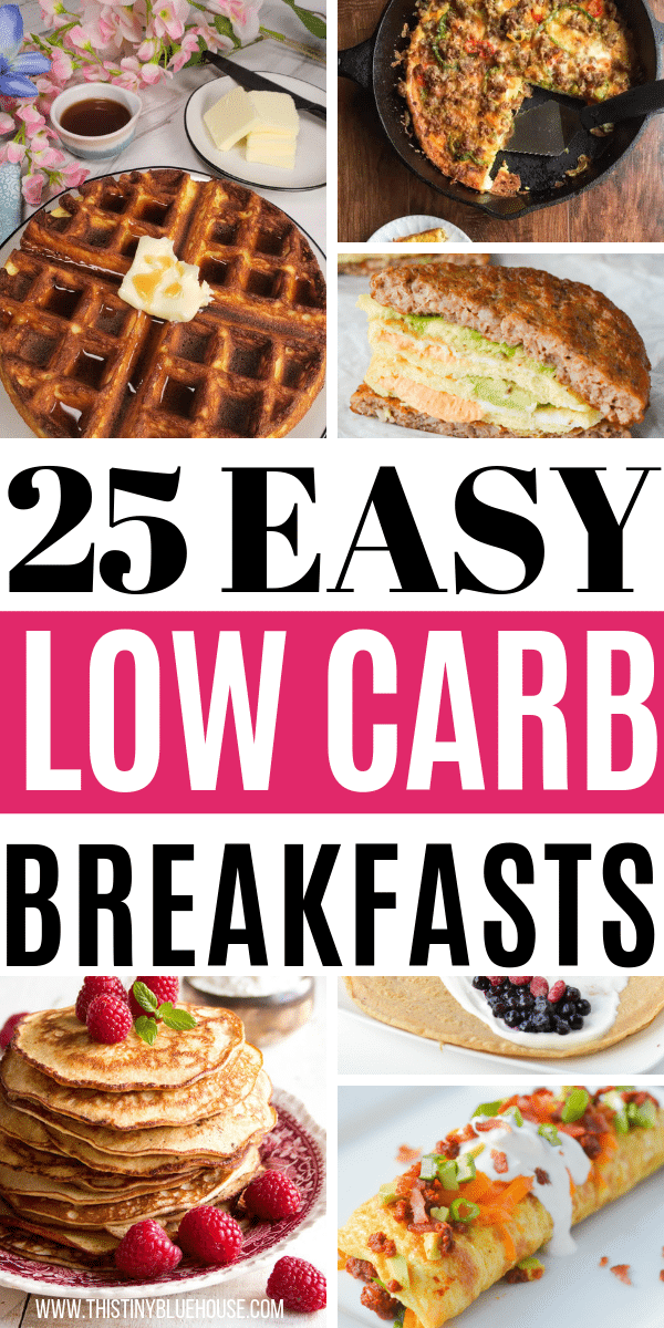 Add some variety to your breakfast routine with these deliciously easy low carb keto breakfasts! They're so good you wont even feel like you're on a diet. #ketobreakfast #ketobreakfastrecipes #ketobreakfastideas