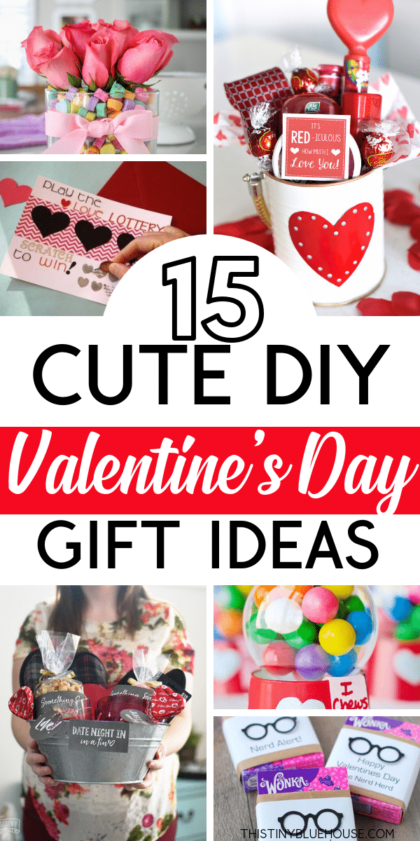 Spoil the special someone in your life with one or more of these thoughtful and genius DIY Valentine's Day gifts. Nothing says I love you more than a cute homemade gift. #diygifts #diyvalentinesgift #easydiyvalentinesgifts