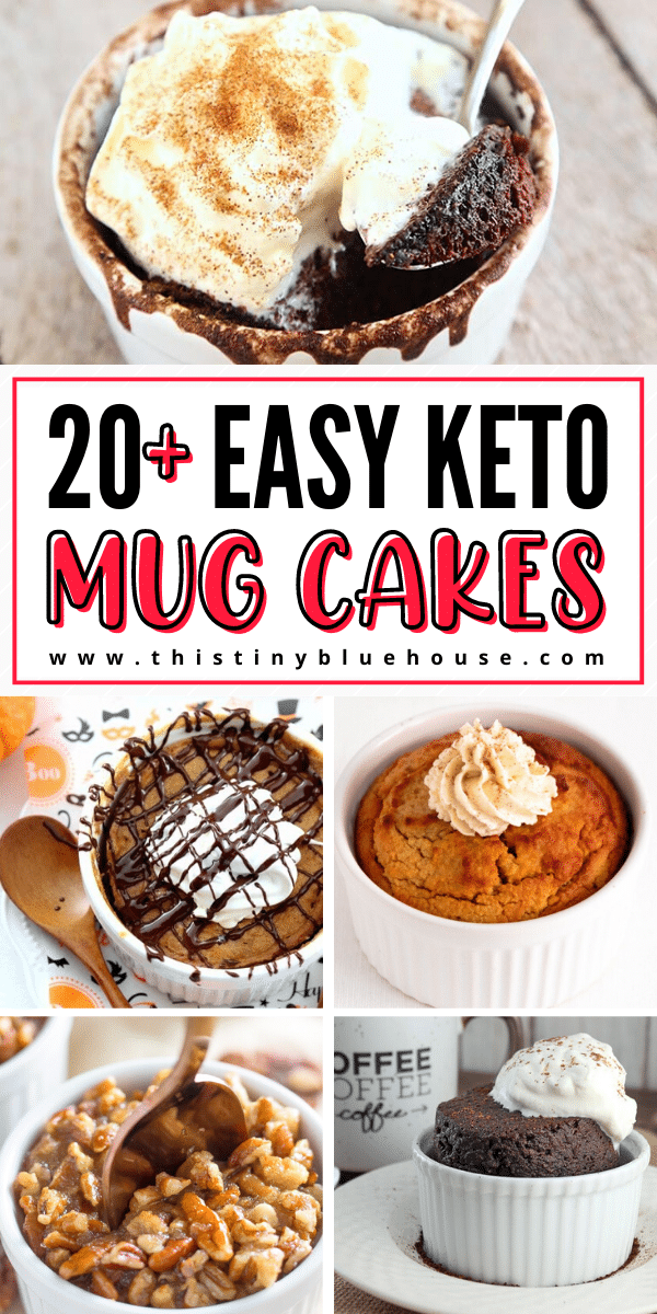 21 Totally Guilt Free Keto Mug Cakes