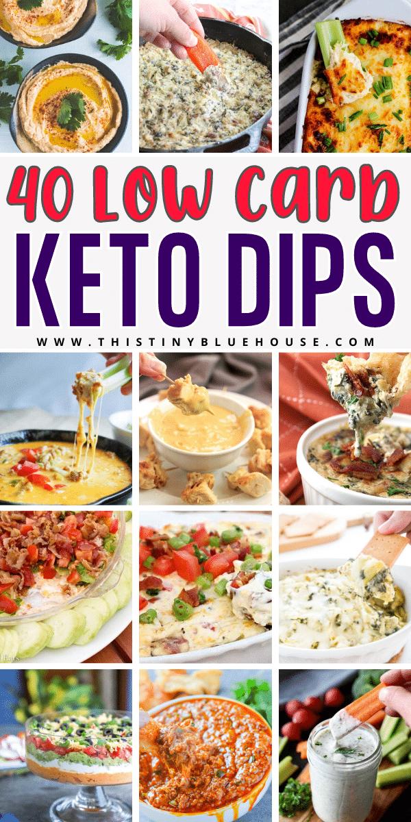 40 Easy Guilt Free Keto Dips
