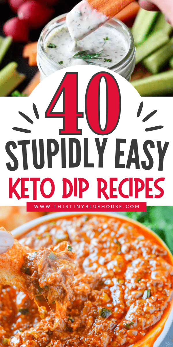 40 Satisfying Keto Dip Recipes Perfect For Your Next Party
