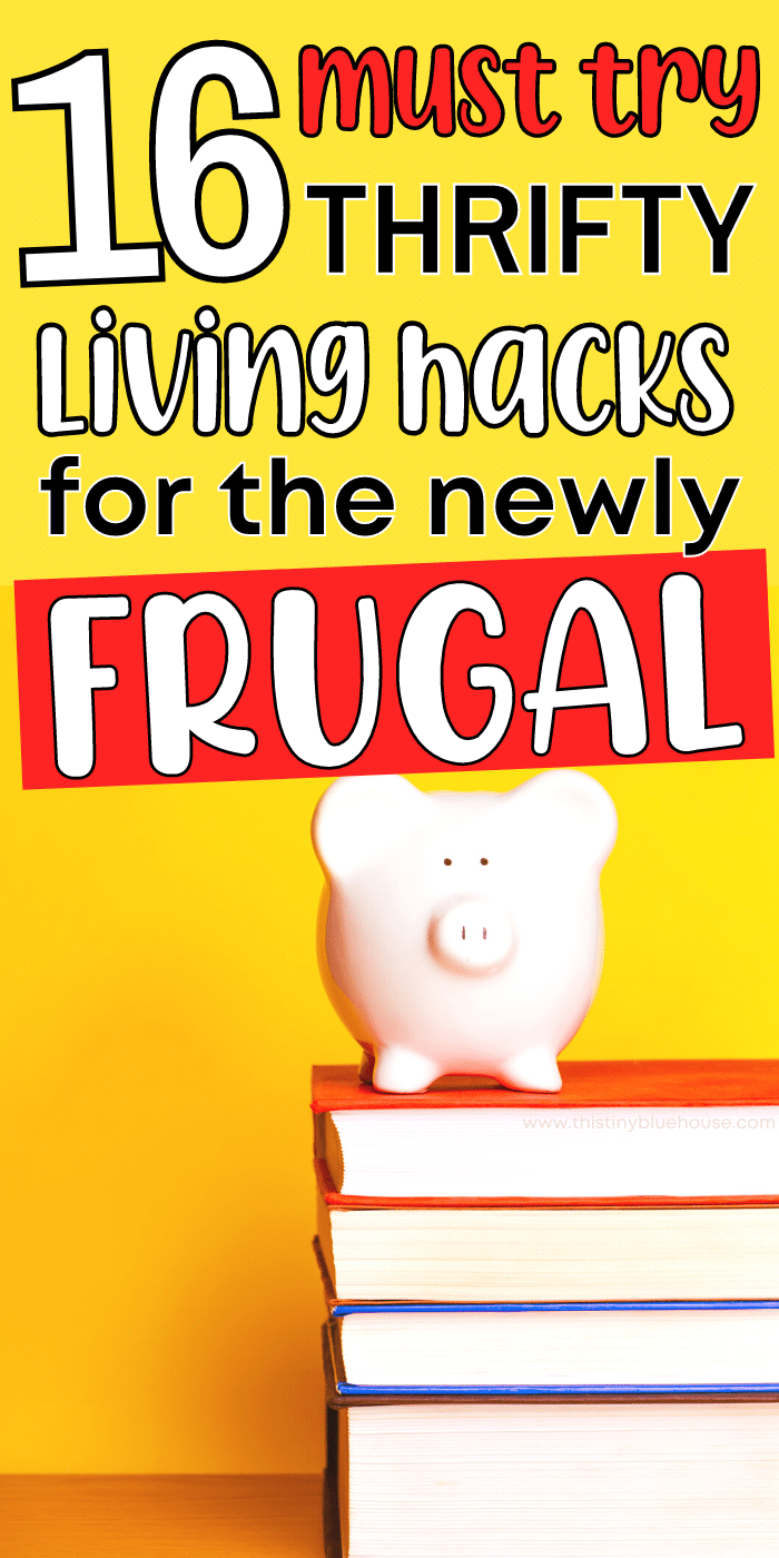 16 GENIUS thrifty living tips for the newly frugal