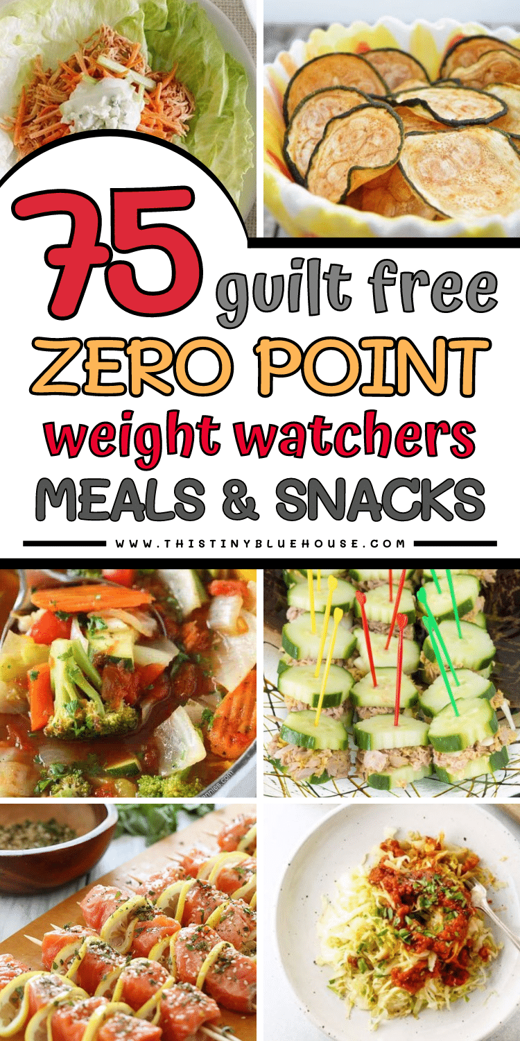 75 Best Totally Guilt Free Zero Point Foods