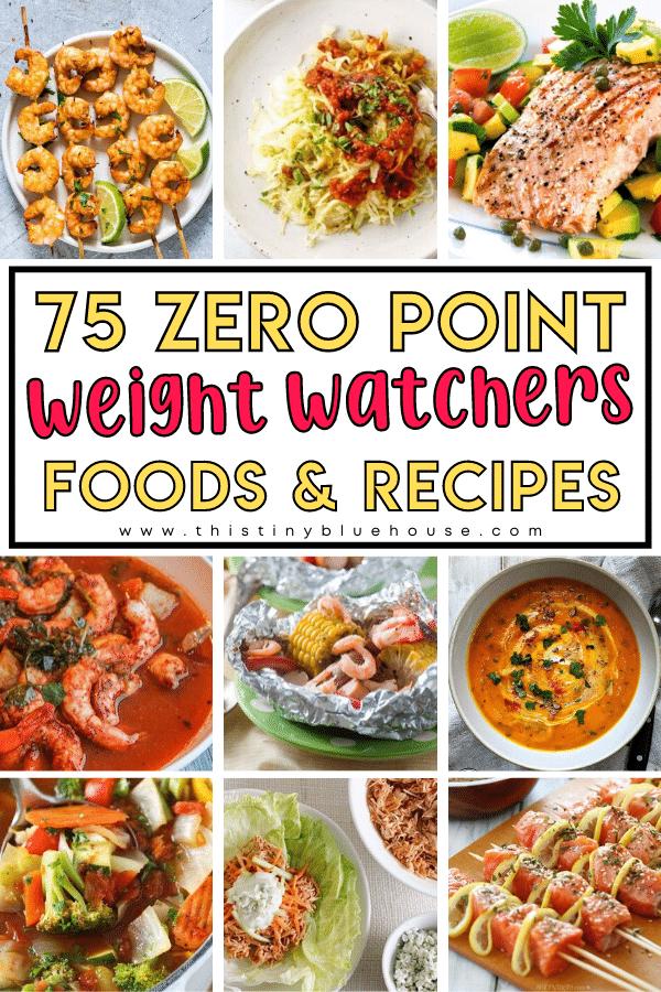 75 Zero Point Weight Watchers Recipes