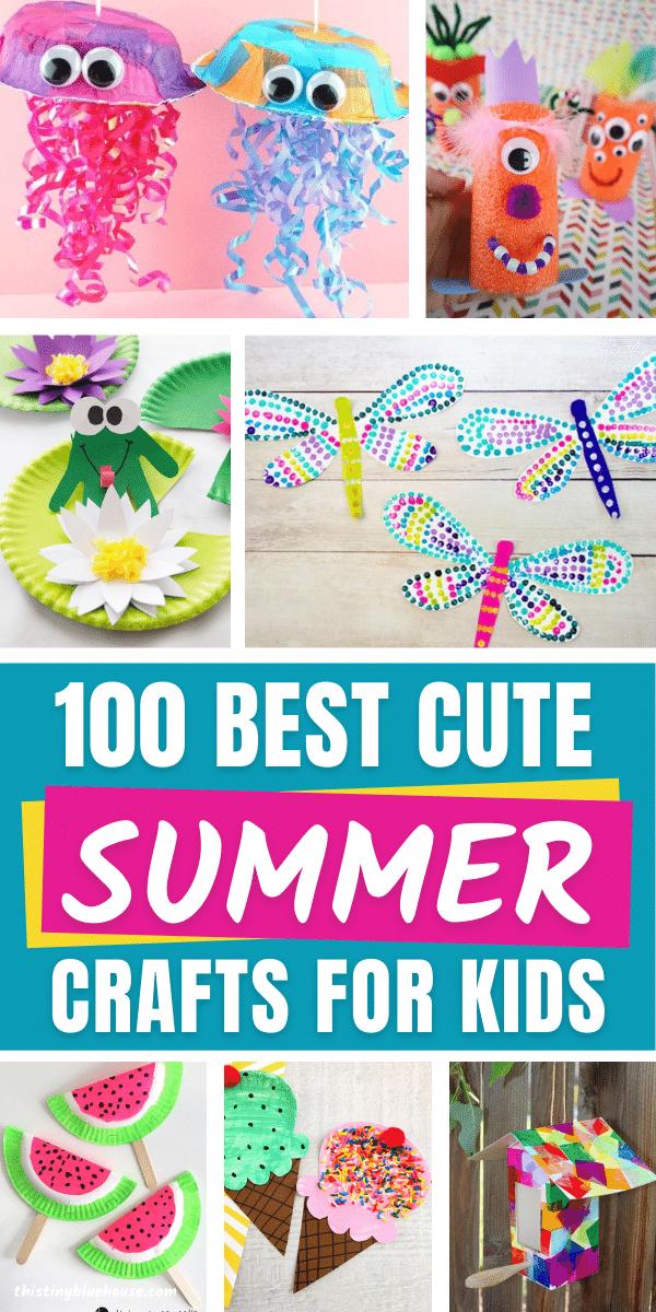 boredom busting summer crafts for kids