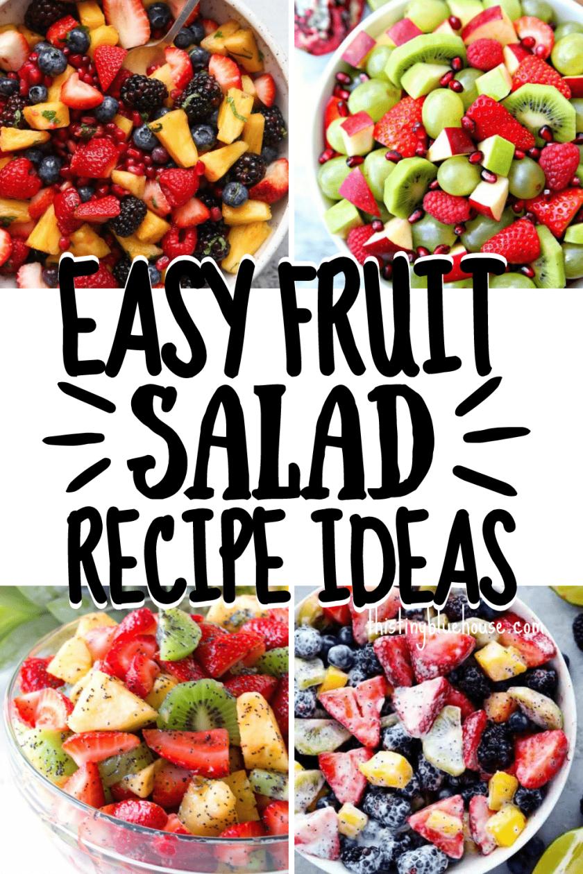Fresh & Easy Fruit Salad Recipe Ideas