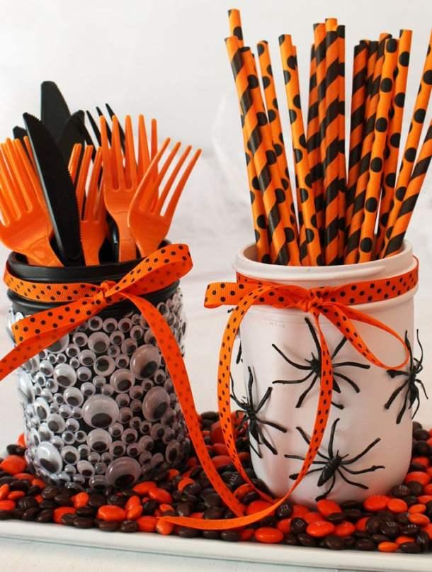 15 Cute DIY Halloween Mason Jars (Part 2)