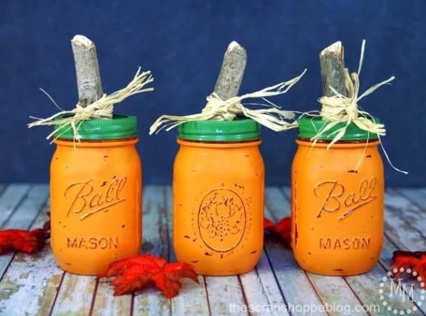 15 DIY Mason Jar Crafts For The Fall Season (Part 1)