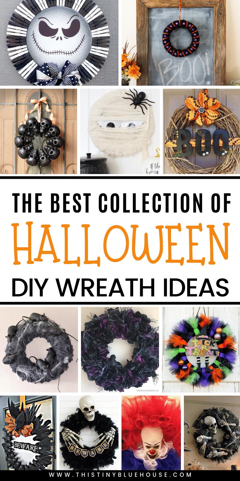 40 Best Diy Halloween Wreaths This Tiny Blue House