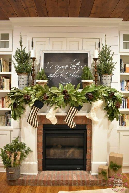 100+ Best Stunning DIY Rustic Christmas Decor Ideas - This ...