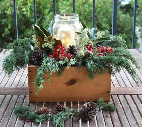 15 DIY Rustic Holiday Candles and Luminaries