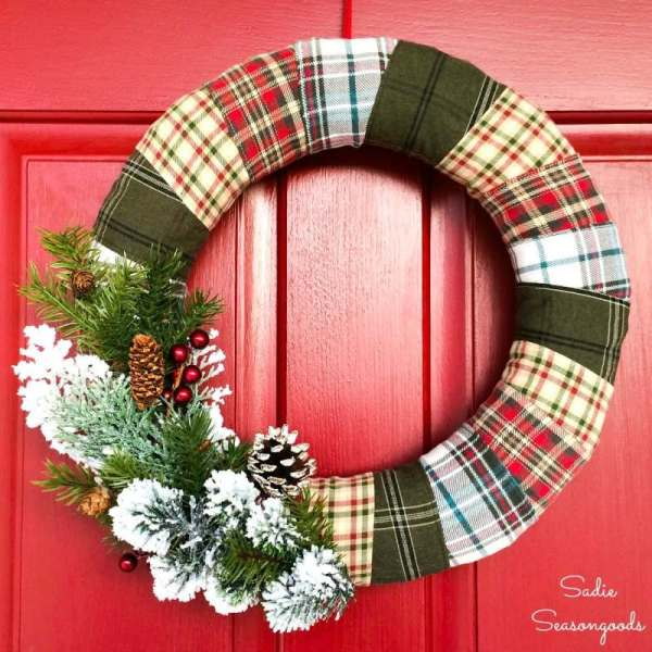 15 DIY Christmas Wreath Ideas (Part 1)