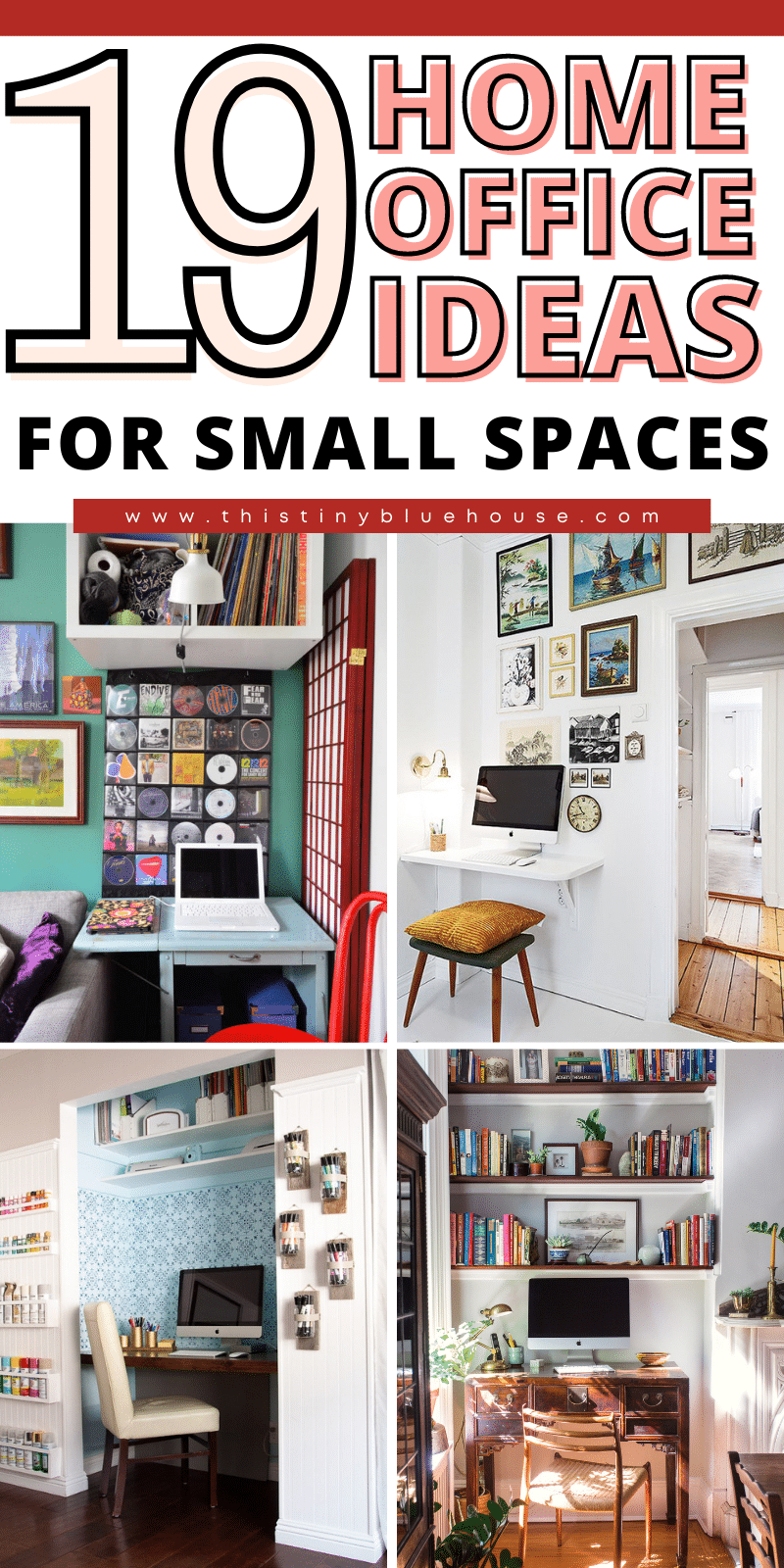 19 inspiring small space home office ideas